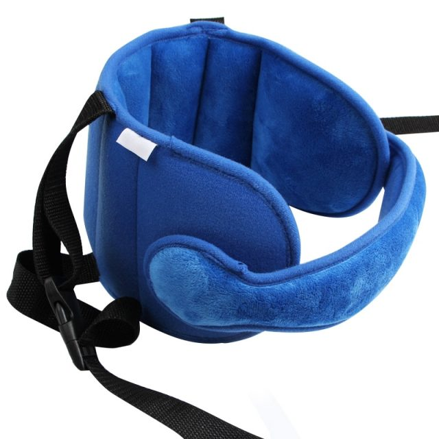 Kid's Adjustable Head Support for Car Seat